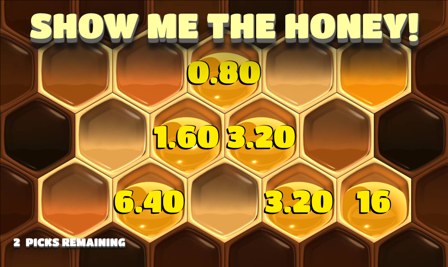 Juego de bonus de Show Me The Honey
