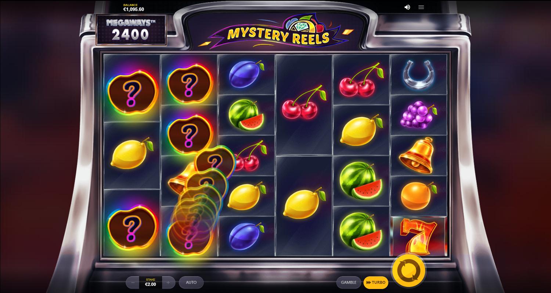 Mystery Reels Megaways bonus feature