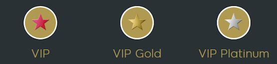 VIP Loyalty Levels
